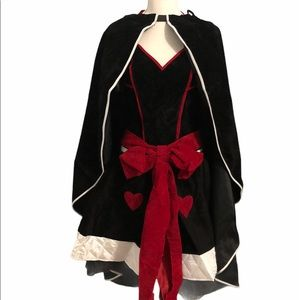 NWOT Queen of Hearts Alice in Wonderland Costume